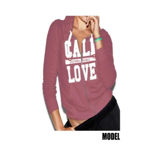 Cali love zip up pullover