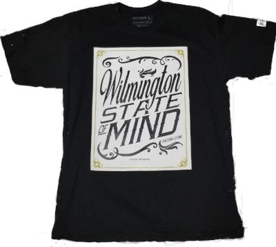 Wilmington-state of mind short sleeve T shirt by Bow down - Destination Store