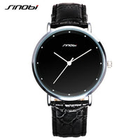 SINOBI top brand luxury watch ladies men's stainless steel fashion watch - Destination Store