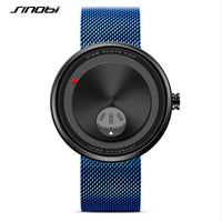 SINOBI men's top brand luxury fashion rotating watch