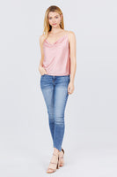 Cami satin top - Destination Store