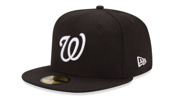 New Era Washington Nationals 5950 black hat - Destination Store