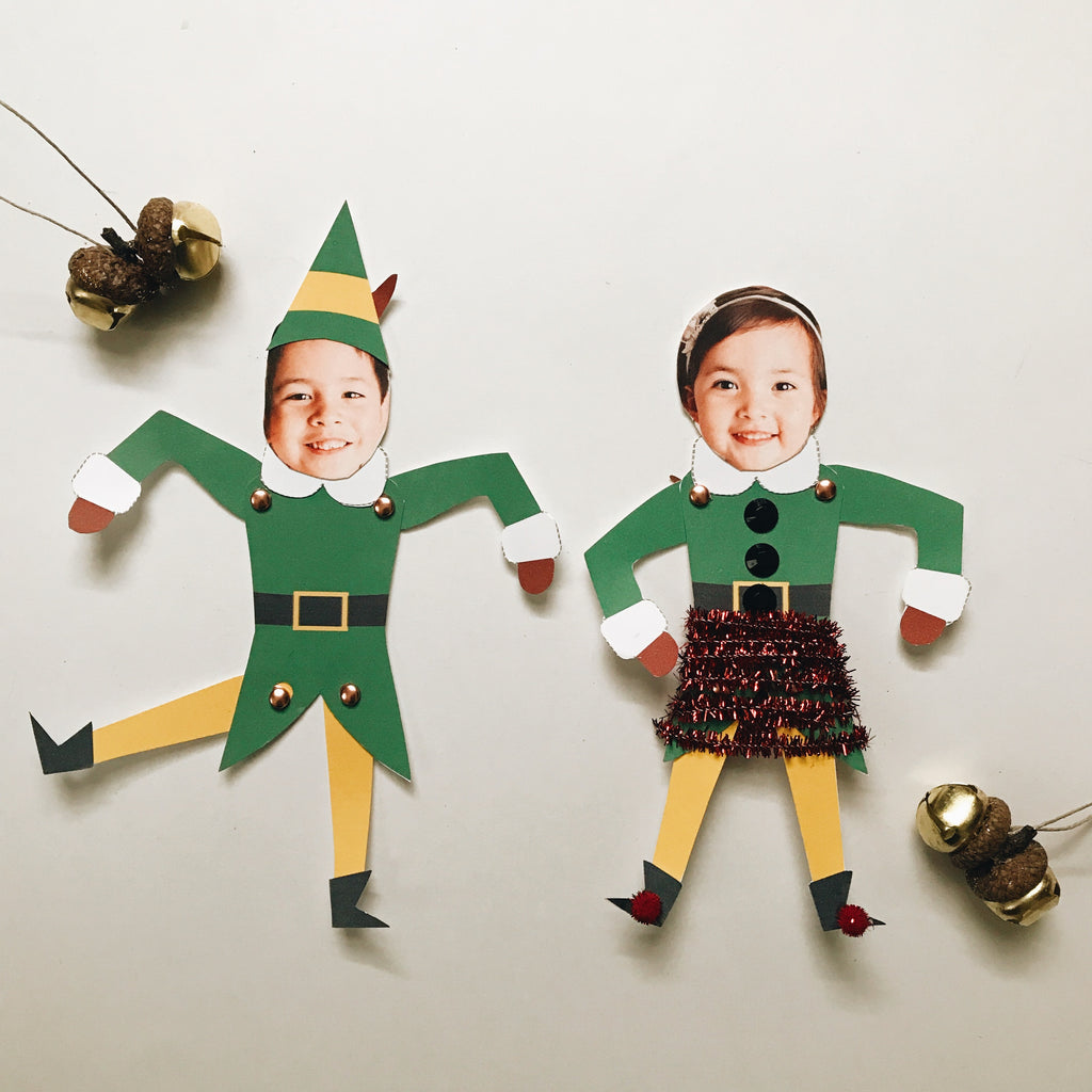 Fun Elf Craft For Kids