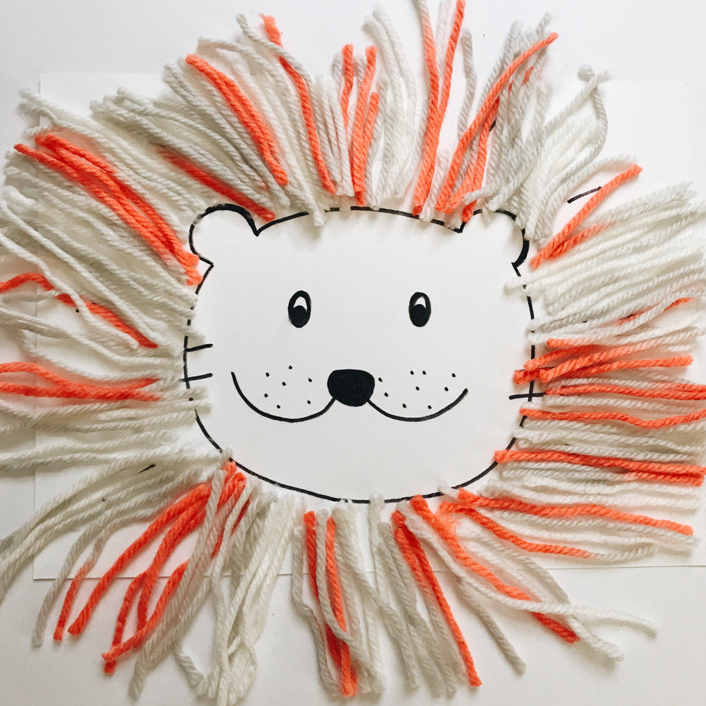 Summer Craft Ideas - Furry Lion