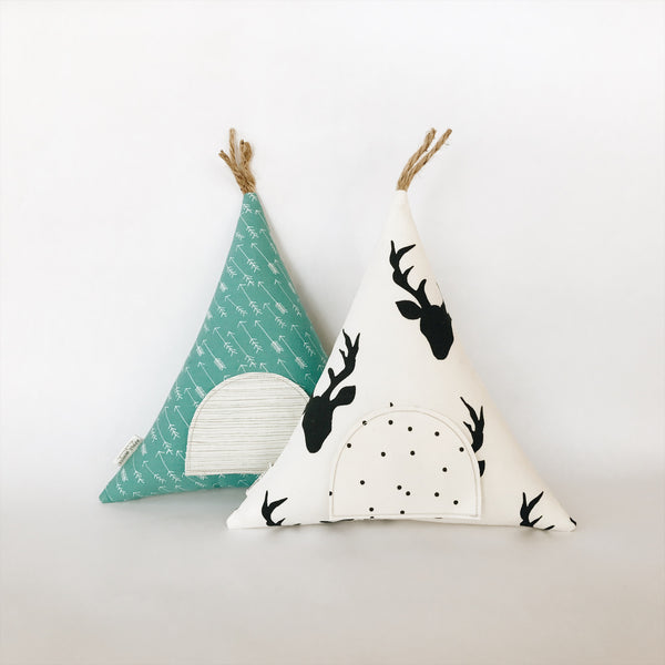 Tooth Fairy Teepee Pillow - Andnest