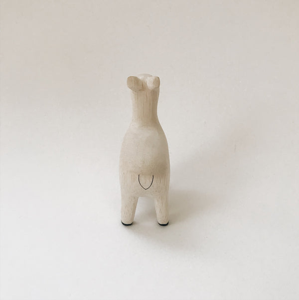 Wooden Animals - Alpaca - Andnest.com