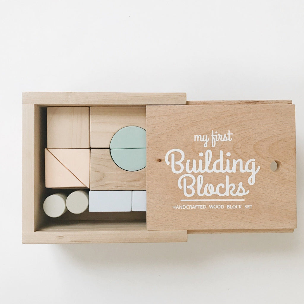 First Building Blocks Set