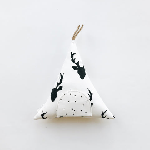 Tooth Fairy Teepee Pillow - Andnest.com
