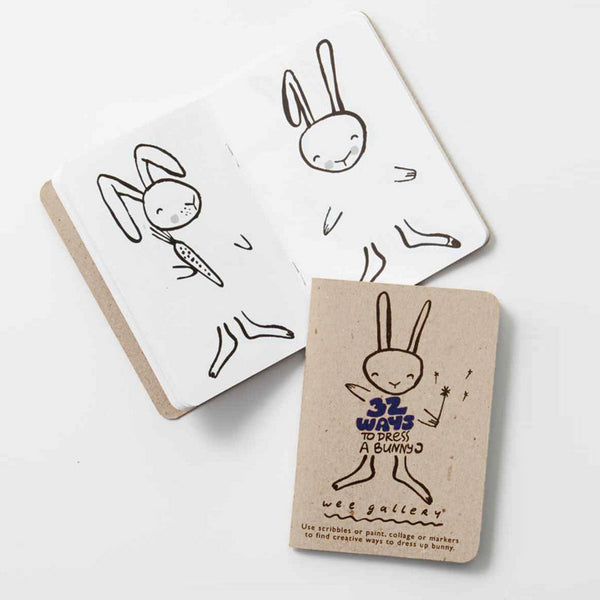 32 Ways to Dress Activity Book - Bunny - Andnest.com