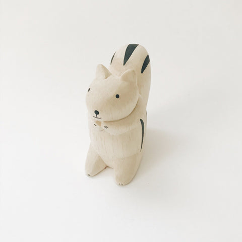 Wooden Animals - Squirrel - Andnest.com