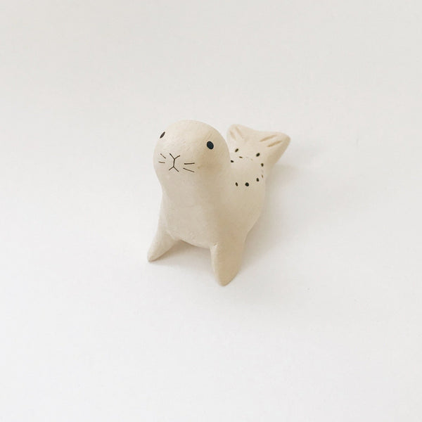 Wooden Animals - Seal - Andnest.com
