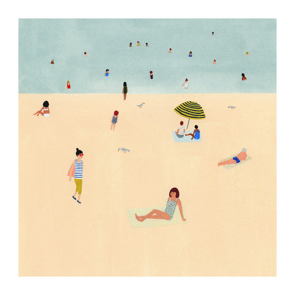 Beach Art Print - Andnest