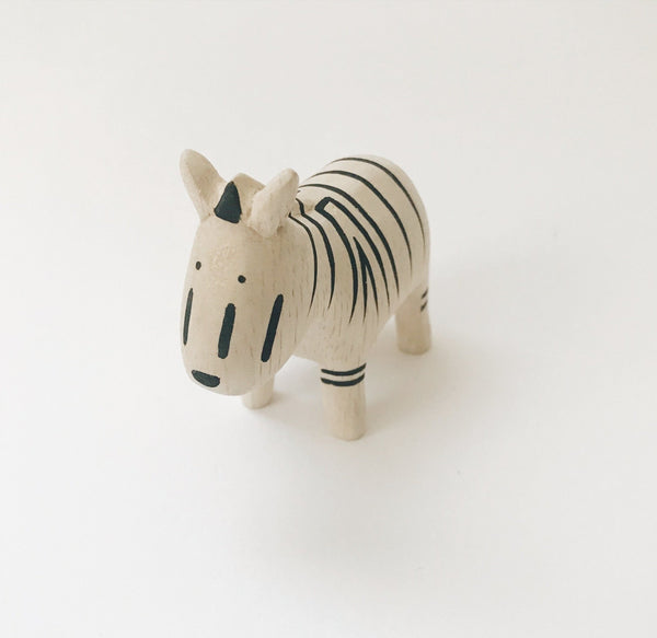 Wooden Animals - Zebra - Andnest.com