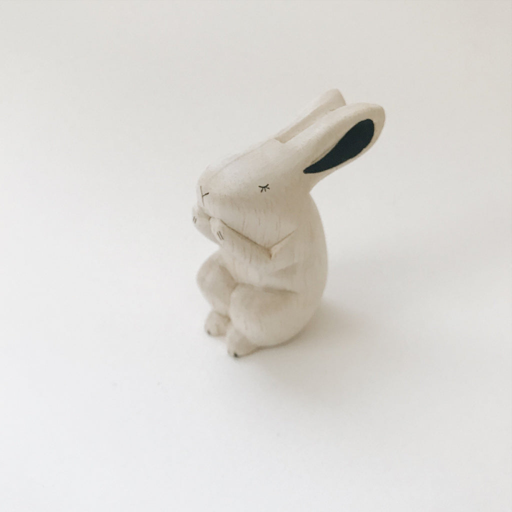 Wooden Animals - Rabbit - Andnest.com