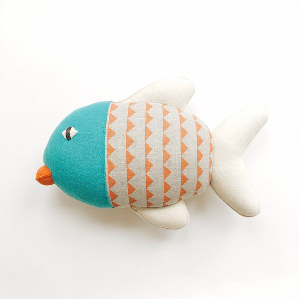 Burel Collection Fish Pillow B - Andnest.com