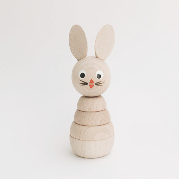 Wooden Stackable Animals - Bunny - Andnest.com