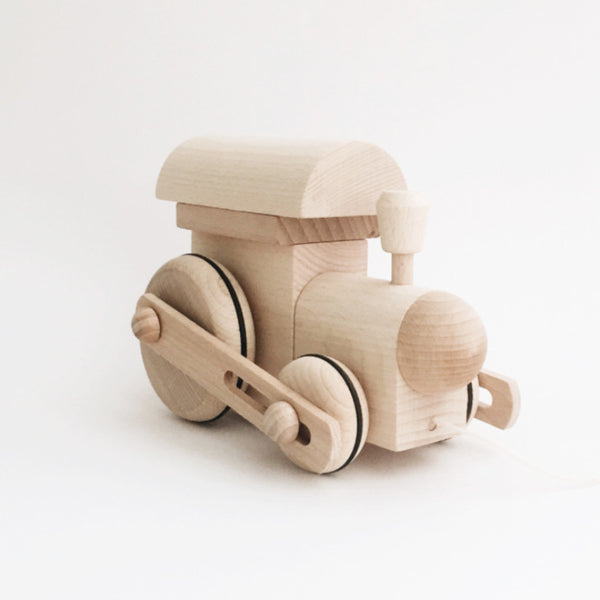 Wooden Pull-Along Train - Andnest