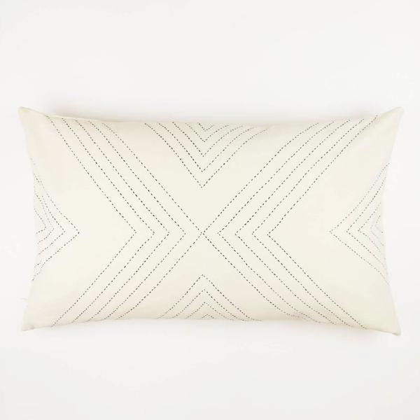 Arrow Lumbar Pillow Cover - Andnest.com