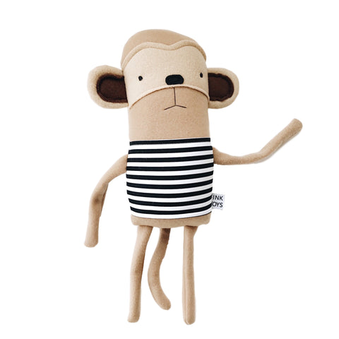 Monkey Plush Friend - Andnest.com