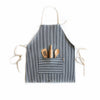 Children's Apron Set - Railroad Stripes - Andnest