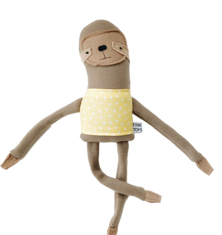 Sloth Plush Friend - Andnest.com