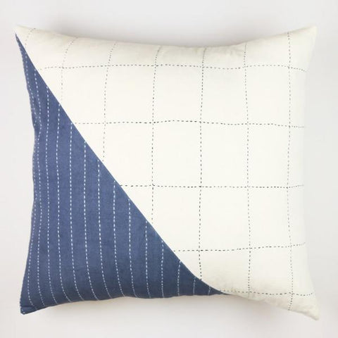 Geometric Color Block Pillow 22