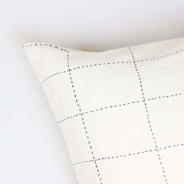 "Geometric Color Block Pillow 22"" - Andnest.com"