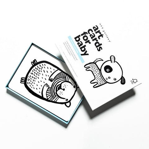 Baby Art Cards - Pets Collection - Andnest.com