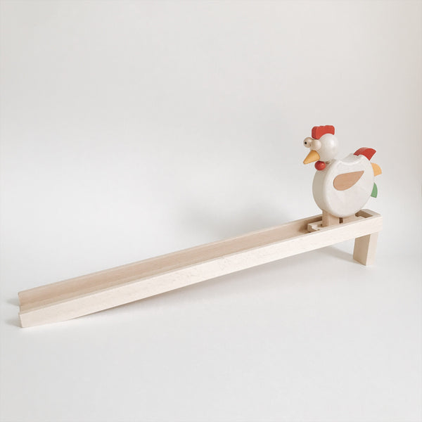 Wooden Walking Rooster Toy - Andnest.com