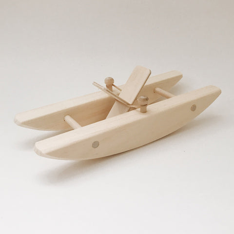 Wooden Paddle Boat - Andnest.com