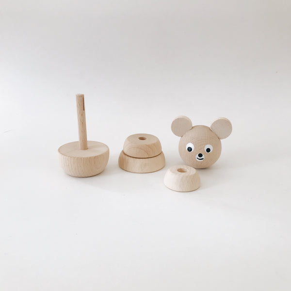 Wooden Stackable Animals - Bear - Andnest.com