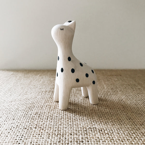 Wooden Animals - Giraffe - Andnest.com