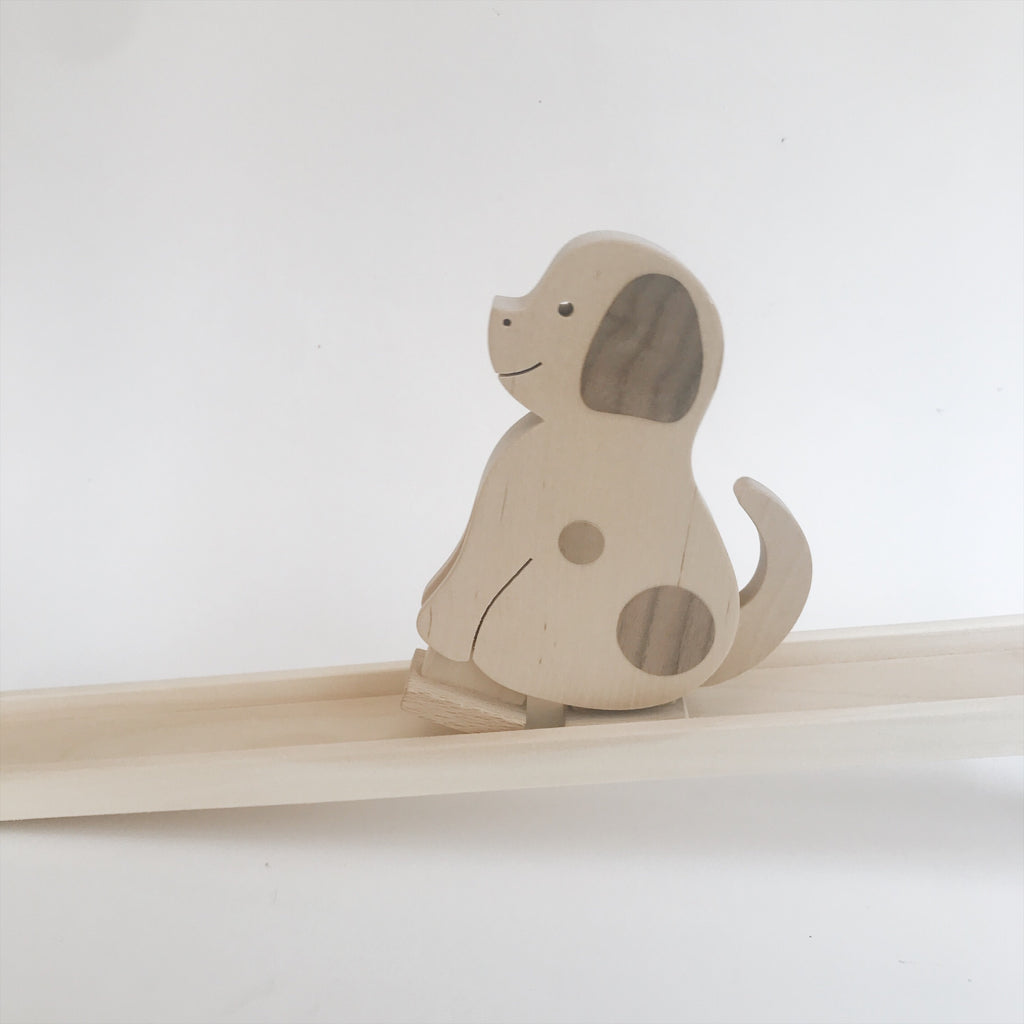 Wooden Walking Dog Toy - Andnest.com