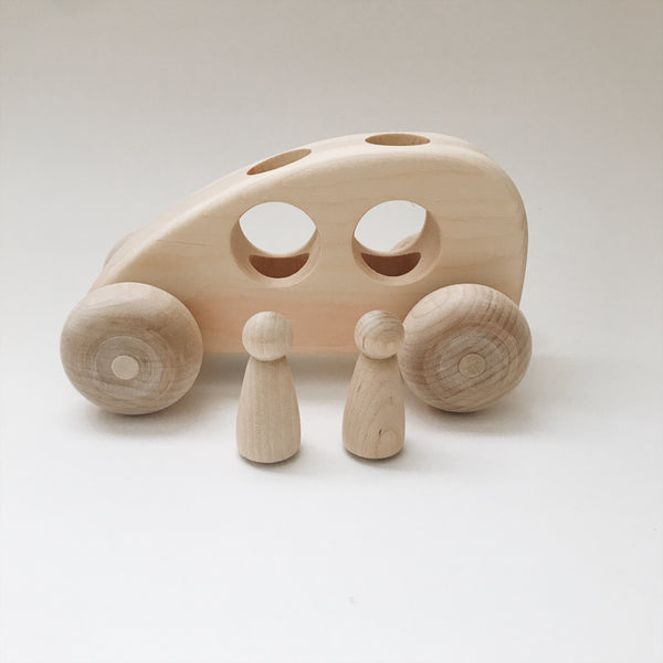 Wooden toy car - Andnest.com