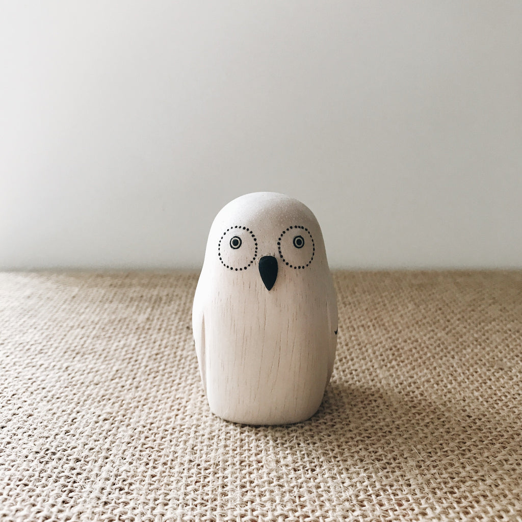 Wooden Animals - Owl - Andnest.com