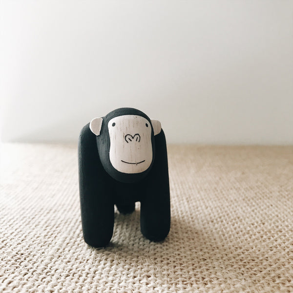 Wooden Animals - Gorilla - Andnest.com