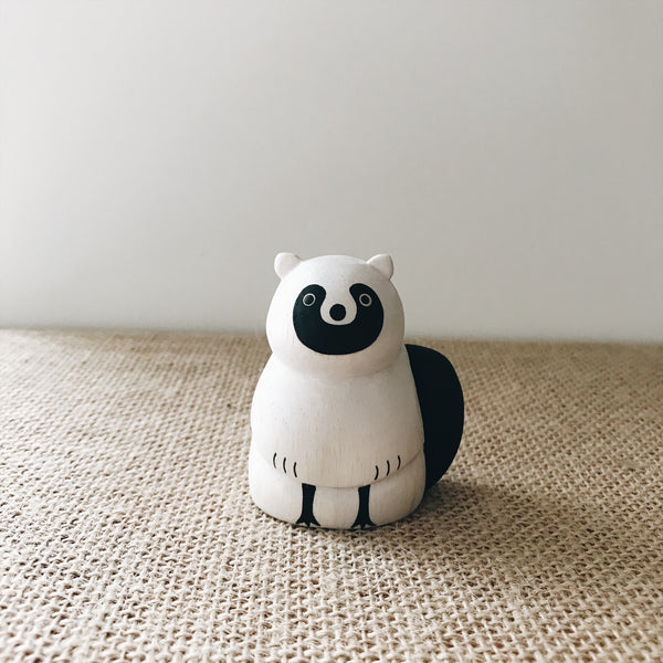 Wooden Animals - Raccoon - Andnest.com