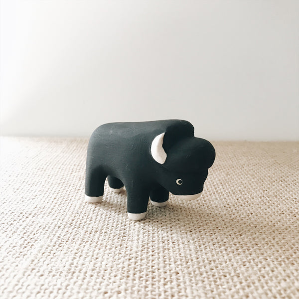 Wooden Animals - Bison - Andnest.com