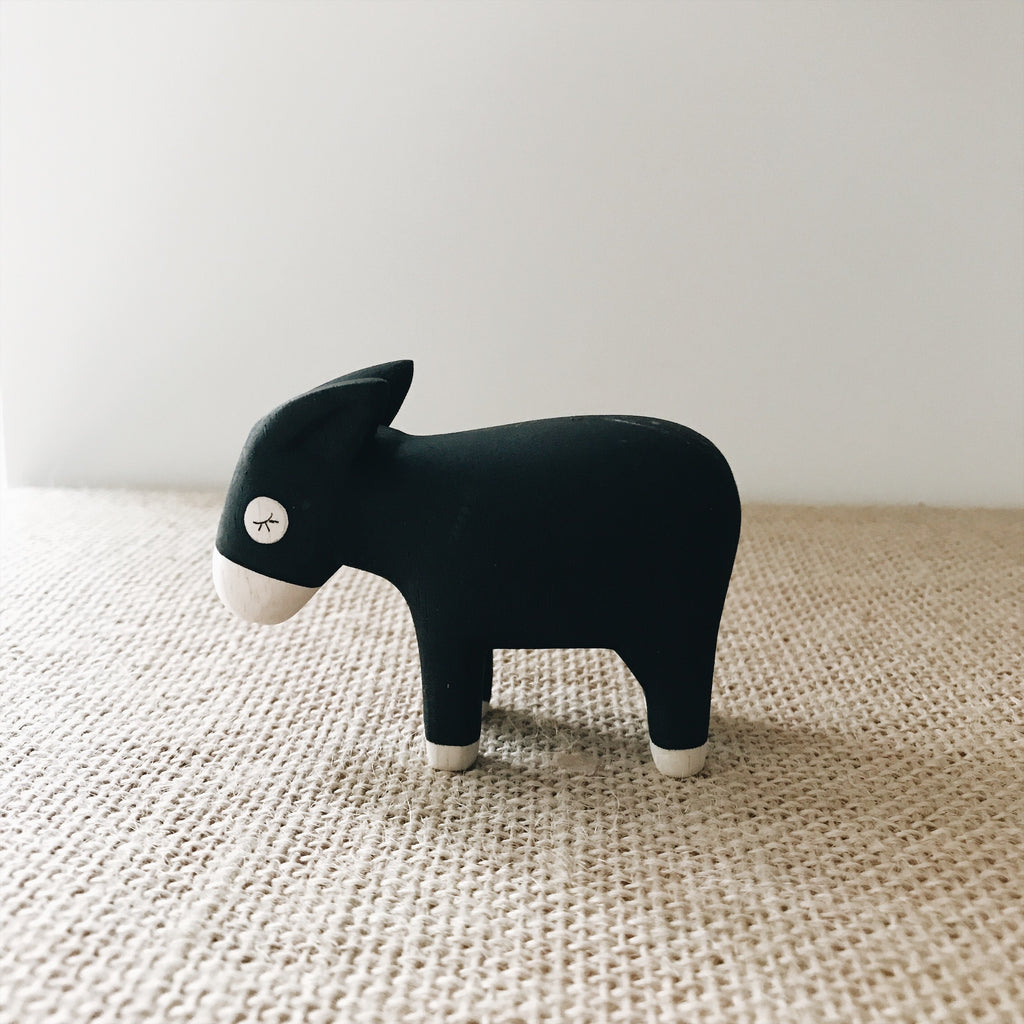 Wooden Animals - Donkey - Andnest.com