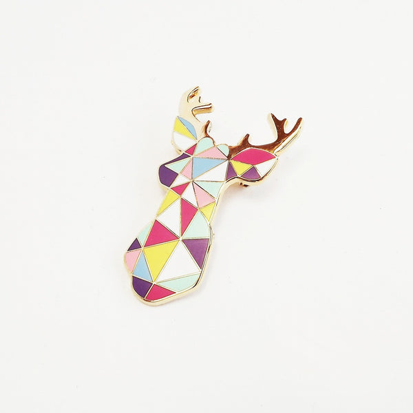 Stag Brooch - Andnest.com