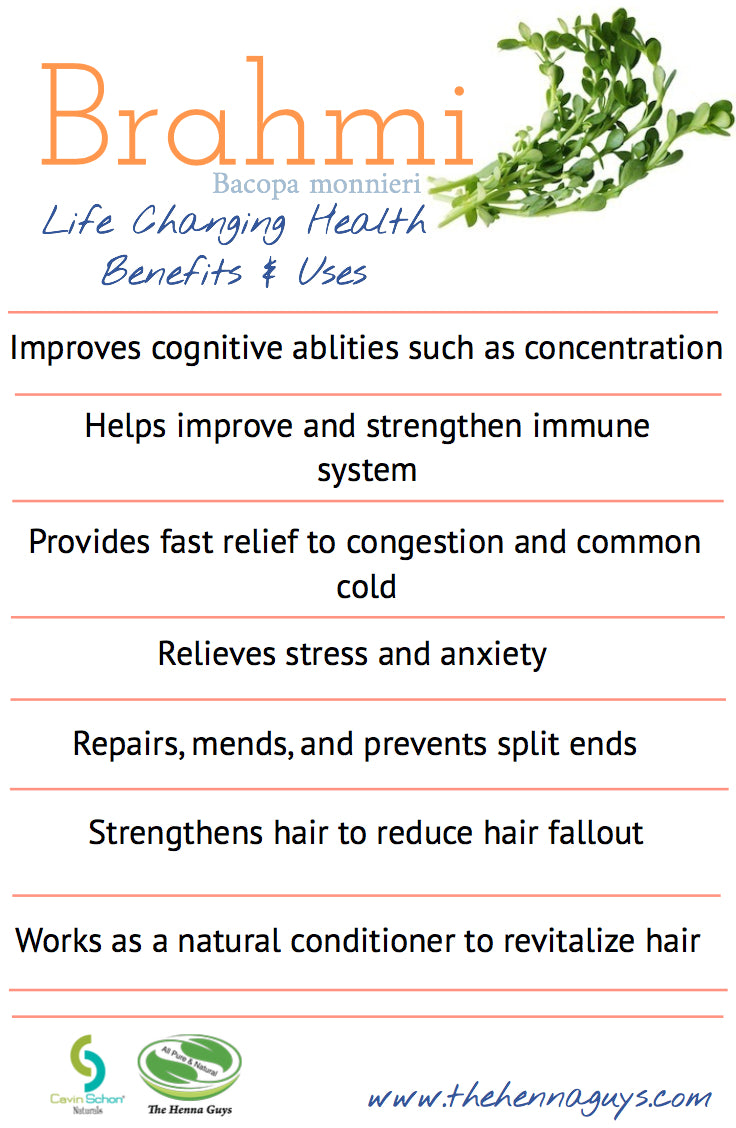 Magical Benefits of Brahmi / Bacopa, # 3 on our list of Ayurvedic Nirvana