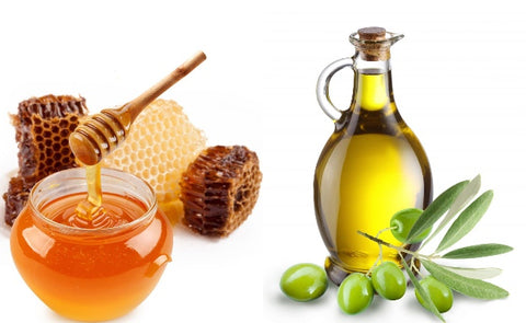 Honey and olive oil for hair fall remedy