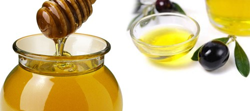 Honey & olive oil