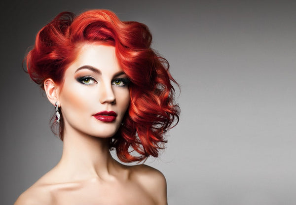 The best natural red hair