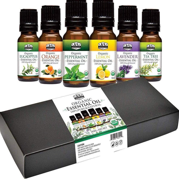 USDA Organic Essential Oils Combo.