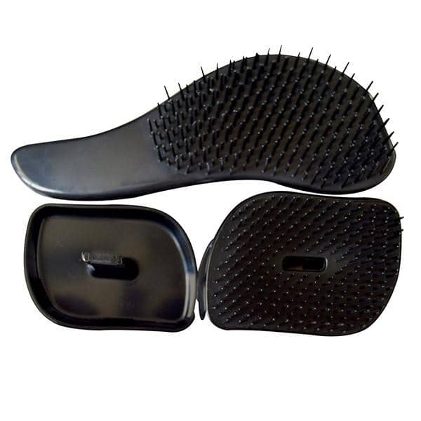 Detangling Hair Brush Combo Set black