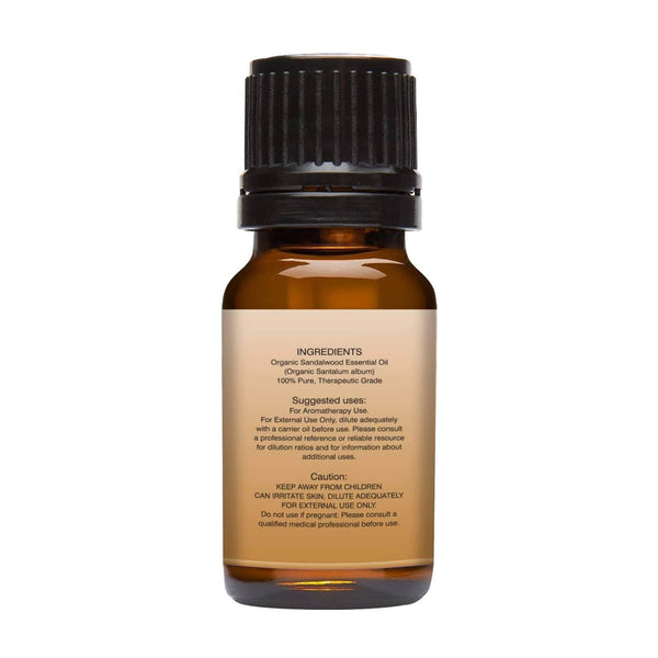 Organic Cedarwood Essential oil left back