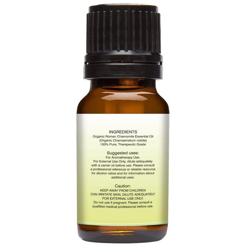 Organic Roman Chamomile Essential Oil back