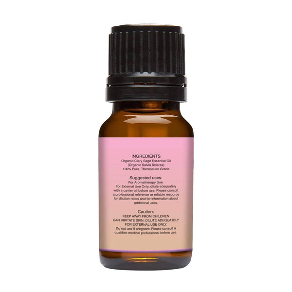 Organic Clary Saga Essential oil left back