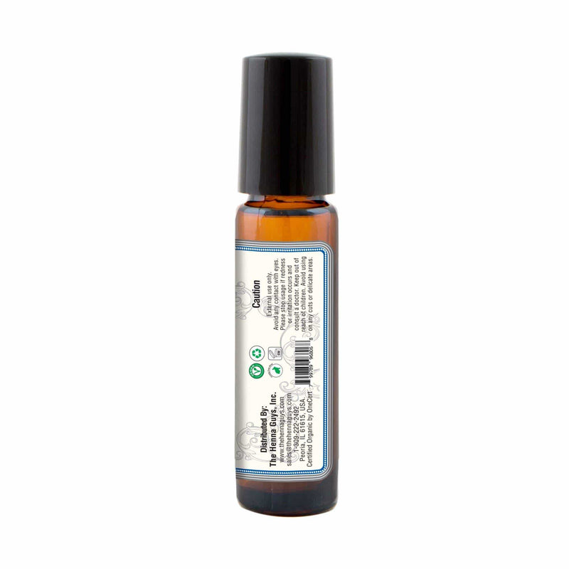Organic Roll on Essential Oils (muscles Relief) back
